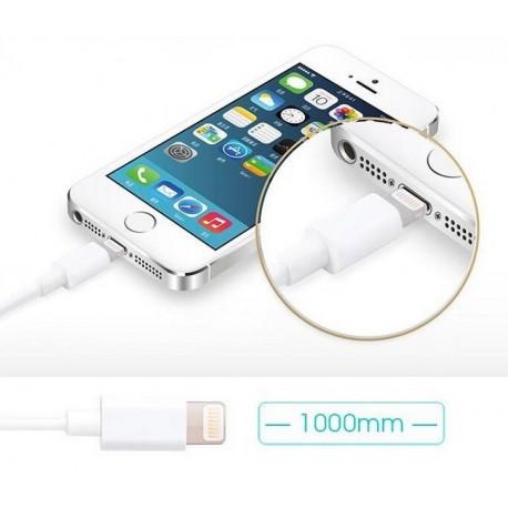 Cable lightning MFI 1m pour iPhone et iPad